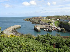 Amlwch - Image: Amlwch Port From The Headland geograph.org.uk 1436555