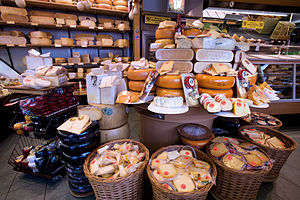 Cheese - A variety of cheeses