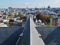 Amsterdam Westerkerk Blick vom Turm aufs Dach 3.jpg
