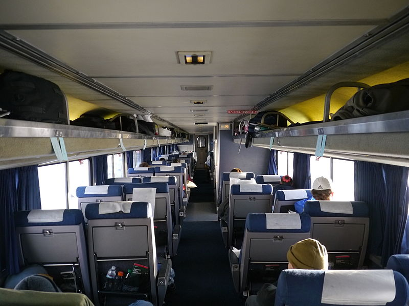 Amtrak Train Private Room