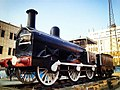 An old steam locomotive; one of the oldest steam locomotive in the world which can be found in Cairo. The Egyptian Railways is the second oldest railways in the world after England. (7880905974).jpg