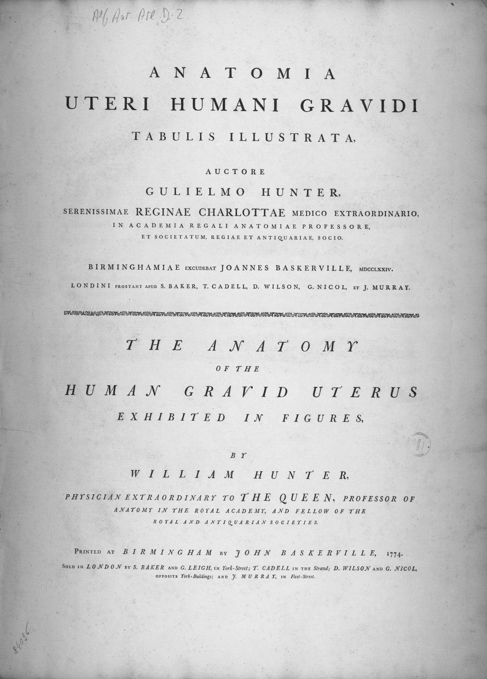 Anatomia uteri humani gravidi V00001 00000002