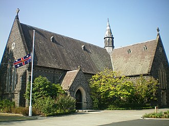 Malvern, Victoria - Image: Anglican church at Malvern 4