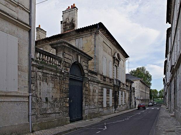 Monument historique à Angoulême
