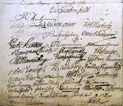 Underskriftern