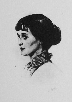 Anna Akhmatova - Anna Akhmatova in 1914