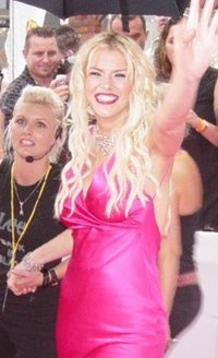Anna Nicole Smith vid  MTV Video Music Awards 2005.