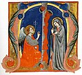 Annunciation in an Initial M MET sf-rlc-1975-1-2478-r.jpeg