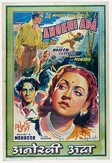 <i>Anokhi Ada</i> (1948 film) 1948 film by Mehboob Khan