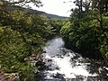 Another picture of the Stream west of Kylemore Abbey (6047420323).jpg