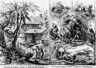 American Dream - Image: Anti emigration.propagand a.1869