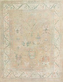 The Artistic Knotting Techniques Of Oushak Produce A Unique Carpet