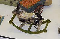 Antique toy wind-up rocking rabbit (25252847643).jpg