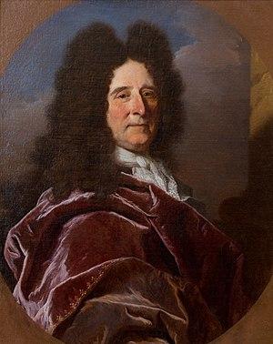 Antoine Ranc - Presumed portrait of Antoine Ranc by Hyacinthe Rigaud – c. 1687. Narbonne, musée des Beaux-arts