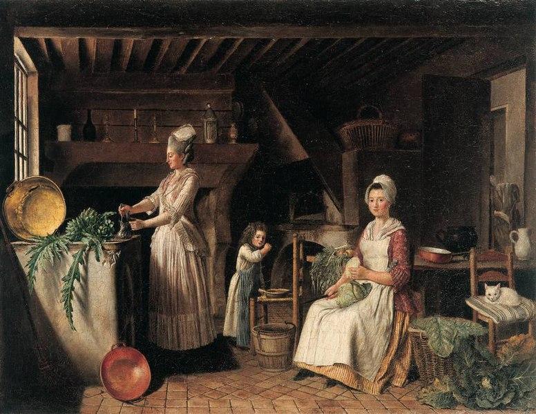 File antoine raspal 1738 1811 int rieur de cuisine for Interieur 18eme siecle