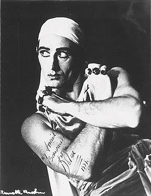 Anton Dolin - Dolin in The Prodigal Son, Ballets Russes, during the Australian Tour of 1939