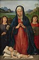 Antonio Solario - The Christ Child Worshipped by Mary - KMS3504 - Statens Museum for Kunst.jpg