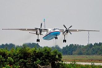 Antonov An-24 - SAT Airlines' Antonov An-24RV