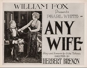 Any Wife - window or lobby card