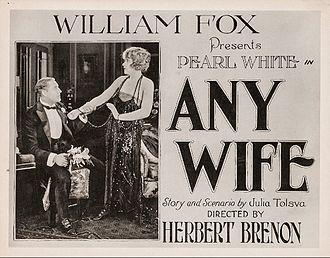 Any Wife - window or lobby card