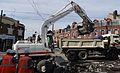 Anzin & Valenciennes - Travaux de raccordement des lignes A & B du tramway de Valenciennes à la Croix d'Anzin le 13 août 2013 (38).JPG