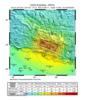 नेपाल में आये भूकम्प का पुनर्व्यवस्थपन (शैकमैप) चित्र।