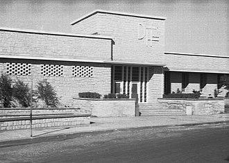 Saudi Aramco - Aramco compound in Saudi Arabia, 1954.