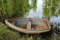 Arboretum lake rowing boat West Lodge Park, Hadley Wood, Enfield, London, England 1.jpg