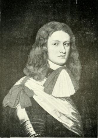 Archibald Campbell, 9th Earl of Argyll - Portrait of Archibald Campbell, Lord Lorne, by unknown artist, formerly in collection of the Earl of Balcarres.