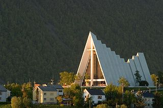 Arctic Cathedral Church in Troms, Norway