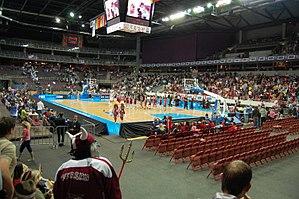 Arēna Rīga - Image: Arena Riga Eurobasket Women 2009