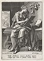 Arithmetica, Johann Sadeler (I), after Maerten de Vos, Cornelis Cort, and Frans Floris (I), 1560 - 1600, engraving, 15.0 by 10.6 cm.jpg