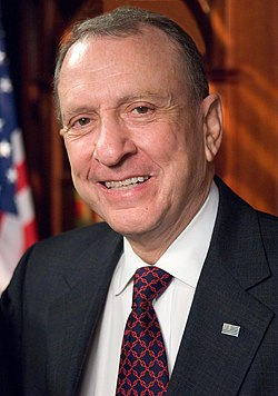 Arlen Specter, from file.  Image: US Senate.