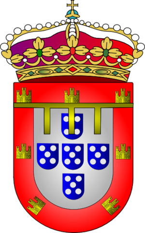 Prince Royal of Portugal - Coat of arms of the Prince Royal of Portugal