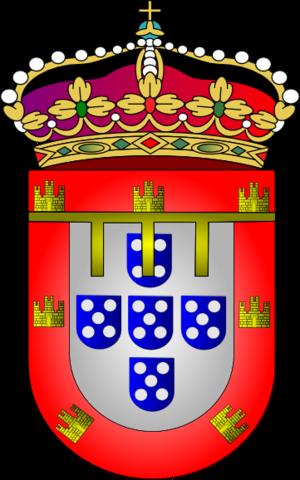 Cadency - Image: Armas principe real portugal