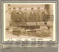 Armenian resistance members from the Adapazari Armenian committee