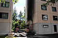 Arson in Kerava - Porvoonkadun tuhopoltto IMG 2569.JPG