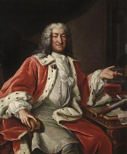 Arvid Bernard Horn af Ekebyholm, 1664-1742 (Lorens Pasch d.ä.) - Nationalmuseum - 15699.tif