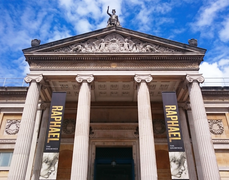 Ashmolean Museum Entrance May 2017