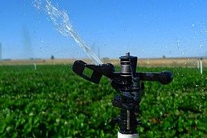 Irrigation sprinkler - Image: Aspersor