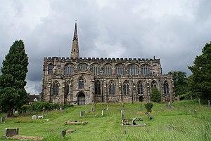 St Mary's Church, Astbury - Image: Astbury Church geograph.org.uk 1411084