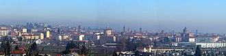Asti - Panoramic view of Asti