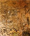 Atelier of Wang Kui (12 century). The Defeat of Mara (detail of The Life of Shakyamuni). 1167. Mural. West wall, Manjushri Hall, Yanshansi, Fanshixian, Shanxi Province..jpg