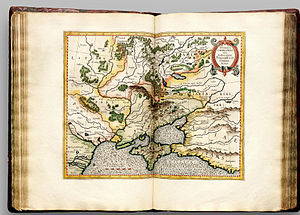 Don River (Russia) - Image: Atlas Cosmographicae (Mercator) 106
