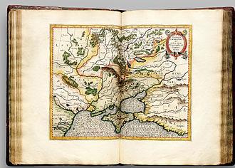 Don River (Russia) - Image: Atlas Cosmographicae (Mercator) 106