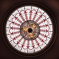 Attingham Park - stained glass inner skylight by Nash.jpg