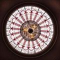 Attingham Park - stained glass inner skylight by Nash.jpg