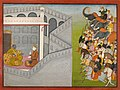 Attributed to Fattu, eldest son of Manaku - The Siege of Mathura by Jarasandha - 2008.293 - Museum of Fine Arts.jpg