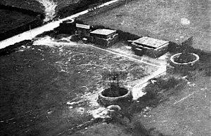 Freya radar - A 1941 RAF PRU photograph of the two Freyas at Auderville