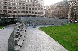 Australian War Memorial, London - Image: Australian War Memorial, Hyde Park Corner W1 geograph.org.uk 1316514